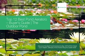 top 12 best pond aerators 2020 review