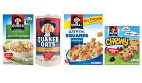 quaker oats bars oatmeal and oatmeal