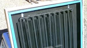 how to design a solar water heater