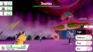 Pokemon Sword and Shield : How to get Gigantamax Snorlax in the ...