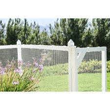 Pet Frame With Heavy Duty Wire Mesh And Gate Vinyl Fence Panel In 2020 Outdoor Fencing Backyard Fences Fence Panels