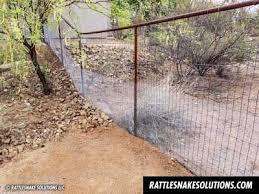 Snake Fence And Arizona Rattlesnake Prevention Fencing Installation Rattlesnake Solutions Llc In 2020 Fence Installation Landscape