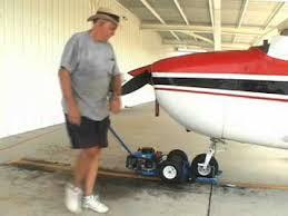 nose dragger dragger aircraft tug you