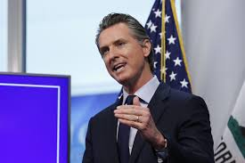 California Gov. Gavin Newsom ...