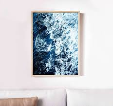 ocean wall art sea waves print