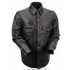 leather riding men s lightweight shirts