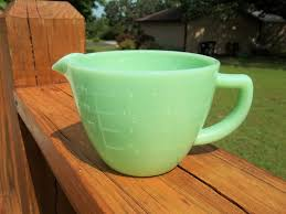 jadeite jadite milk glass 2 cup liquid
