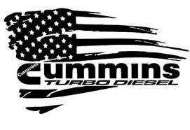Cummins Turbo Diesel American Flag Distressed Usa Window Vinyl Decal Sticker Cummins Cummins Turbo Diesel Cool Car Stickers