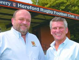Spencer Goodall and Ivan Powell will drive agenda at Hereford Rugby Club |  Hereford Times