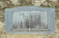 Iva Creech Owens (1910-1987) - Find A Grave Memorial