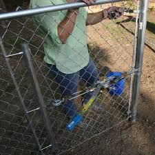 Install A Chain Link Fence