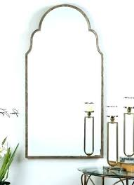 narrow full length wall mirror interior