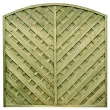 Madrid Fence Panel Eastern Fencing Timber Supplies Ltd