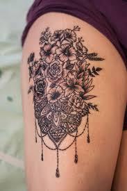 Bukietzkoronka2 The White Rabbit Tattoo