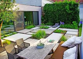 house garden design with a minimalist style