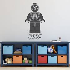 Lego Spiderman Avengers Superhero Personalized Wall Customvinyldecor Com