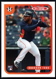 Amazon.com: Baseball MLB 2020 Topps Total #75 Abraham Toro Astros:  Collectibles & Fine Art