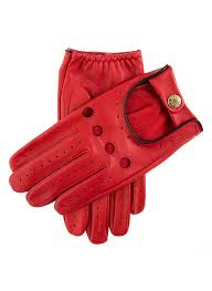 men s classic leather driving gloves