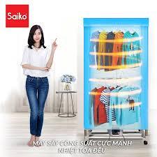 Máy sấy quần áo Saiko có tốt không, giá bao nhiêu, cách lắp sử dụng