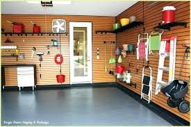 interior garage wall
