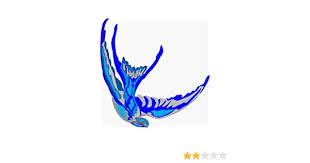 Amazon Com Blue Bird Diving Art Sticker Kitchen Dining