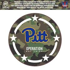 University Of Pittsburgh Decals License Plate Pitt Panthers Auto Accessories Shop Cbssports Com