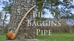 Woodworking - Bilbo Baggins Pipe - YouTube
