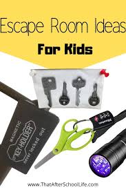 Escape Room Ideas For Kids That After School Life