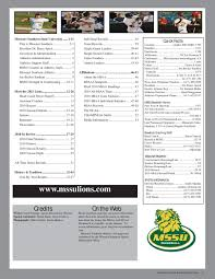 2011 MSSU Baseball Media Guide by Justin Maskus - issuu