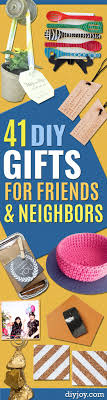 gifts to make for friends and neighbors