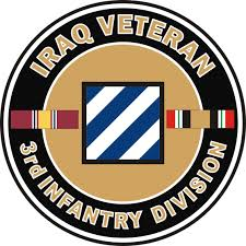 U S Army Iraq Veteran 3rd Infantry Decal Sticker