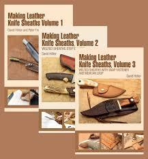 making leather knife sheaths 3 book