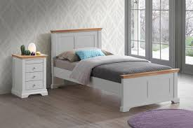 magnificent grey wooden bed alluring