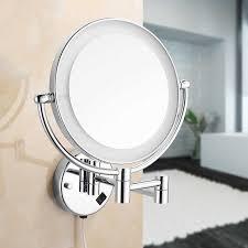 bath mirrors chrome magnifying bathroom