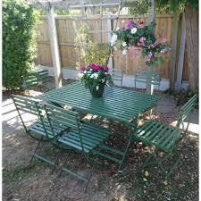 6 seat wimbledon metal furniture set