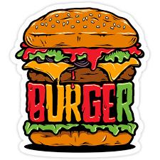 Sticker Burger Muraldecal Com
