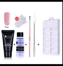nail extension kit false gel acrylic