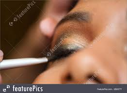 picture of eye makeup indian model