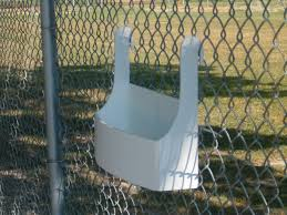 Planter For A Cyclone Chain Link Fence