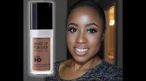 new makeup forever ultra hd foundation