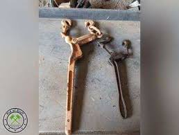Ridofstuff Com Lot Of 2 Vintage Fence Pullers B2