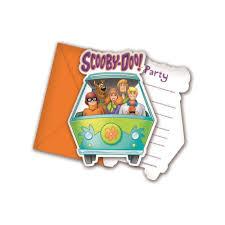 Comprar Invitaciones Scooby Doo Precios Baratos