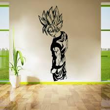 Dragon Ball Z Super Saiyan Goku Wall Sticker Supersaiyanshop