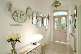 decorating walls with mirrors designs