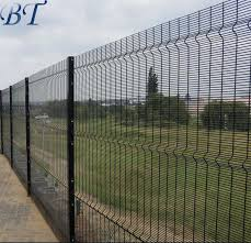 China High Security 358 Wire Mesh Fence Anti Climb For Prison China Anti Climb Fence Welded 358 Wire Mesh Fence