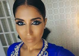 eid makeup arab cat eye nalanie