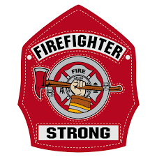 Leather Helmet Front Firefighter Strong Decal The Emergency Mall