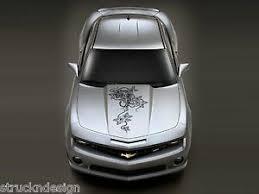 Tiger Rose Thorn Graphic Hood Decal Sticker Truck Vehicle Suv Vinyl Car Tattoo Ebay