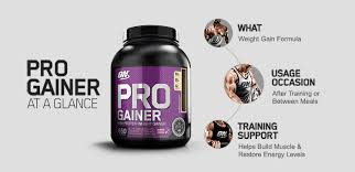 pro gainer by optimum nutrition for