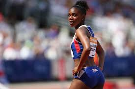 What on earth have I just run?' - Dina Asher-Smith breaks 11-second barrier  | London Evening Standard